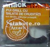 Imagine Sandwich Pui grill cu salata de cruditati, Snack Attack