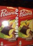 Poza aliment (Indice Glicemic si Incarcatura Glicemica) Ciocolata amaruie cu crema de lamaie, Poiana