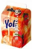 Imagine Desert de iaurt Yoli - capsuni, Alba