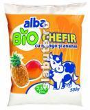 Imagine Biochefir cu mango si ananas 2.5% grasime, Alba