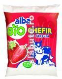 Imagine Biochefir cu capsuni 2.5% grasime, Alba
