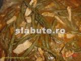 Poza (imaginea) pentru calorii Piept de pui, fara piele, cu fasole verde