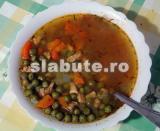 Poza (imaginea) pentru calorii Mancarica de mazare cu carne de porc degresata