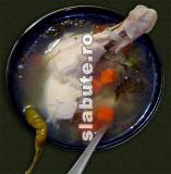 Poza (imaginea) pentru calorii Ciorba dietetica de pui a la Slabuta