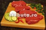Poza (imaginea) pentru calorii Carne de porc, pulpa, semidegresata, gatita, fripta