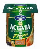 Imagine Iaurt cu cereale integrale (musli) si capsuni Activia, Danone