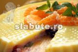 Poza (imaginea) pentru calorii Budinca in 2 straturi (vanilie si capsuni) cu coacaze