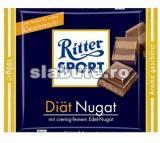 Poza aliment (Indice Glicemic si Incarcatura Glicemica) Ciocolata Nugat Diat, Ritter Sport