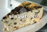 Poza aliment (Indice Glicemic si Incarcatura Glicemica) Tarta cu urda si menta