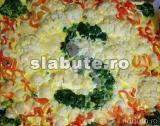 """Poza (imaginea) pentru calorii Platou colorat de legume """"Slabute"""""""
