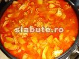 Poza aliment (Indice Glicemic si Incarcatura Glicemica) Tocanita de cartofi cu carne de curcan pentru cardiaci cu grupa sanguina B III, Lucia Aur