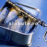 Poza (imaginea) pentru calorii Sardine in ulei, scurse, cu oase