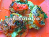 Poza (imaginea) pentru calorii Vinete, rosii cu cascaval la cuptor