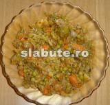 Poza (imaginea) pentru calorii Ghiveci cu legume congelate, fara sare si bulion, pentru cardiaci cu grupa sanguina B III, Lucia Aur