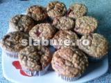 Poza (imaginea) pentru calorii Briose cu ovaz si capsuni, sherpika
