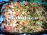 Poza aliment (Indice Glicemic si Incarcatura Glicemica) Varza noua cu cimbru si rosii la cuptor