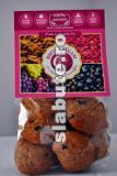 Poza (imaginea) pentru calorii Biscuiti vegani cu coacaze si trandafiri, Hiper Ambrozia